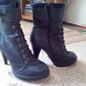 Продам стильные ботинки.... сост. новых... 40 р New LOOK