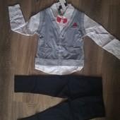 Новый костюм с бабочкой на утренник или праздник 4/5 лет. С заграницы