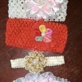 4 повязочки для самой красивой