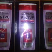 Здоровые волосы в моде!100%Оригинал!Серия полное восстановление Loreal Elvive total repair! Шампунь