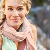 Джерси платок-шаль, tcm tchibo (германия) размер 125*115 см