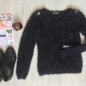 Классный свитер мохнатая кофта Orsay