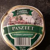 Вкуснючий паштет Familijne przysmaki с грибами 130 грам.Польша