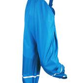 Непромокаемые штаны-дождевик от Lupilu. Утеплены (на флисе). На рост 122/128