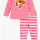 ♥-пижама C&A ,щенячий патруль.тонкий флис,р.110-♥