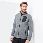 Теплая флисовая куртка -толстовка на байке от ТСМ Чибо германия , размер хл