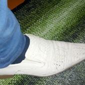 Натуральные кожаные туфли мужские, стелька 29 см, 44 размер