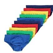 Фирменный набор трусов George  10шт в наборе ,  состав 100% Cotton  размер 6-7