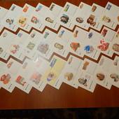 Почтовые карточки ссср. 30 шт. Все разные. чистые. В идеальном состоянии. Лот №-2.