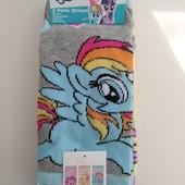 Упаковка носков для девочек с поняшками. размер 31-34.