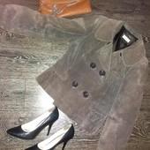 Замшевая куртка-пиджак yessica