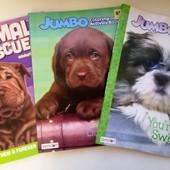 Толстая раскраска на 96 стр. Собачки + разные животные