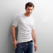 ☘ Базовая мужская футболка из органического хлопка Tchibo(Германия), наши размеры: 46-48 (М евро)