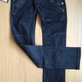Женские зауженные джинсы. Благородный синий цвет. Бренд Lady N jeans. Натуральные.