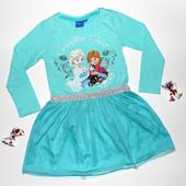Стильное и красивое платье маленьким модницам от Disney! Размеры 3/4 г., 7/8 л., 9/10 л.