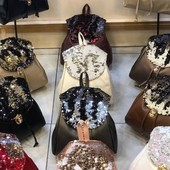 Шикарные рюкзаки с паетками!!! Для мамы и для дочки!!!