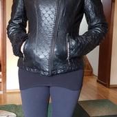 Куртка кожзам на синтапоне