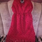 Крутейшее хлопковое платье р.44-46 .Новое