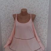 Шикарная  блуза с открытыми плечиками р-р 50