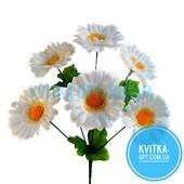 Букет цветов-Ромашка-6 шт в букете-крупный цветок-высокая ножка Любое кол-во по ставке УП-скидка