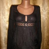 Очень стильная, натуральная блузочка от United Colors of Benetton