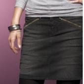 Стильная джинсовая юбка от Tchibo, размер евро 40, 46