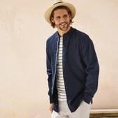 Шикарная рубашка лен+хлопок Livergy размер М