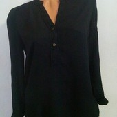 Шикарная рубашка promod, штапель, размер 44-46, сост. новой