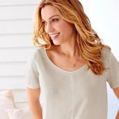 Винтажная нежная блузка  от ТСМ Чибо германия размер 44 евро=50-52 укр