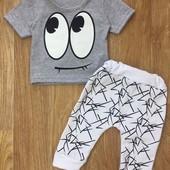 Хлопковые костючики для малышей