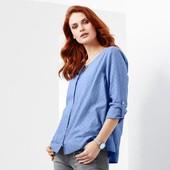 Нежная блуза из органического хлопка, Tchibo (Германия), размер 40 евро