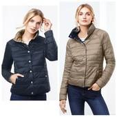 Стеганная двухсторонняя деми куртка tchibo, ориентир размер 38 евро
