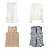 ☘ Комплект: 4 блузы от Tchibo, рр. наши: 50-54 (44/46 евро)