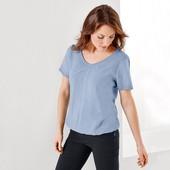 ☘ Стильная блуза с оригинальным вырезом, Tchibo(Германия), размеры наши: 42-46(36/38 евро)