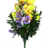 Исскуственные цветы, большие букеты