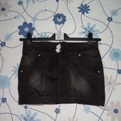 Джинсовая эластичная мини юбка Longli Jeans 28 размер (S-M)