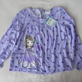 очень легкая рубашечка Дисней на 5-6 лет