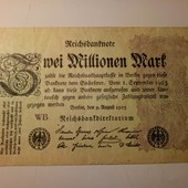 Германия 2 миллиона марок 1923
