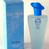 Парфюмерия  Live Blue  100мл. Англия!