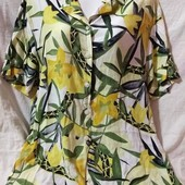 Шикарные блузы на шикарные формы✓Вискоза,штапель✓Как новые✓2шт.в лоте✓