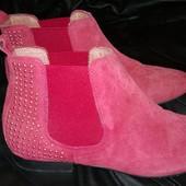 Кожаные ботиночки Andre Studio р.37ст.24,5см