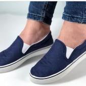 Крутые легкие кроссовки! Кеды мокасины на широкую ногу подойдут!
