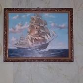 """Картина """"Белые паруса"""" 35 х 45 см шикарно смотрится!"""