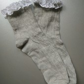 Носочки George с кружевом нарядные р.35-37