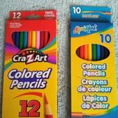 супер яркие  и мягкие карандаши Crayons, деревянные лот все что на фото, смотрите другие мои лоты