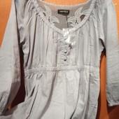 Женская блуза - туника. Лёгкая, приятная ткань Размер 50-52