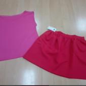 Футболка и юбка.Мой пролет с размером.