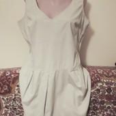Легкое летнее платье большой размер