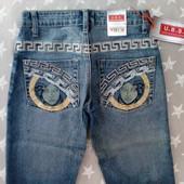 Классные джинсы узкачи W23 L34, детские подростковые, нюанс!