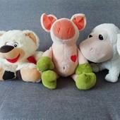 3 мягкие игрушки в лоте